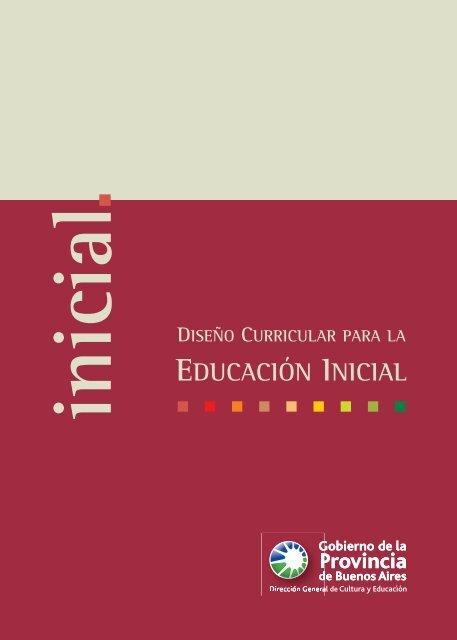 Dise o curricular para el nivel inicial docente for Diseno curricular para el nivel inicial