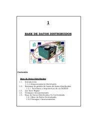 1 base de datos distribuidos - Repositorio UTN