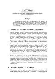 catecismo de la Iglesia Católica - Consejo General de ...