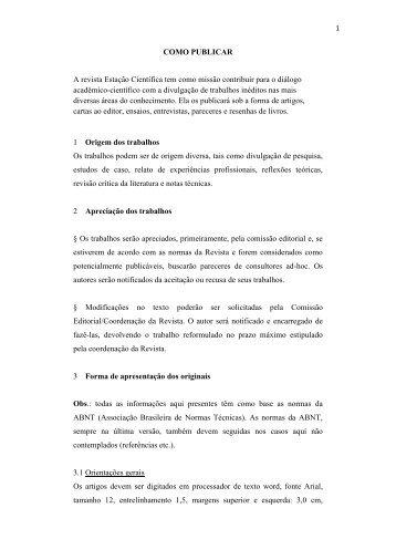 Manual - Universidade Estácio de Sá