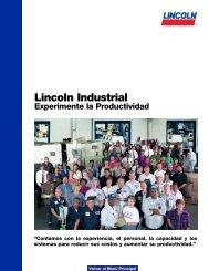 Lincoln Industrial Experimente la Productividad