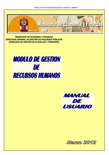 Manual de Usuario - modulo de gestion de recursos humanos ...