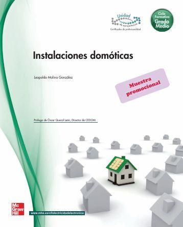 Instalaciones domóticas - McGraw-Hill