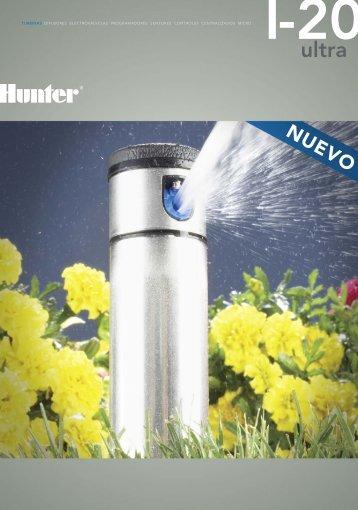 TURBINAS DIFUSORES ELECTROVÁLVULAS ... - Hunter Industries
