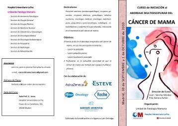 cáncer de mama - Sego