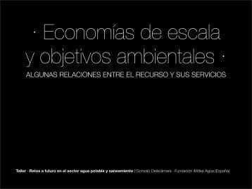 Presentación del Sr. Gonzalo de la Cámara en formato Pdf. - Cepal