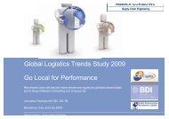 Global Logistics Trends Study 2009 Go Local for ... - Mercadologistico
