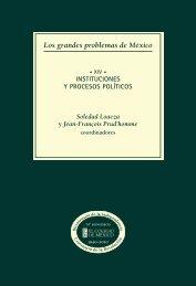 xiv. instituciones y procesos políticos - Aniversarios - El Colegio de ...