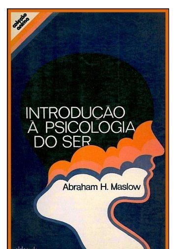 Introdução a Psicologia do Ser - Paulo Nunes - Psicoterapia ...