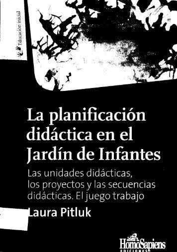 LA PLANIFICACION DIDACTICA EN EL JARDIN ... - Agmer Concordia
