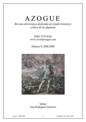 In memoriam Allen G. Debus - Revista Azogue