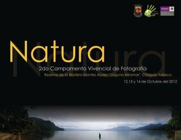 Convocatoria 2do natura
