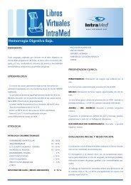 Hemorragia Digestiva Baja. - IntraMed