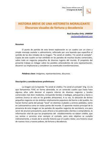 Bajar Documento (PDF | 931 kb | 12 pp.) - Red de historia de los ...