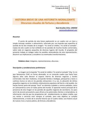 Bajar Documento (PDF   931 kb   12 pp.) - Red de historia de los ...