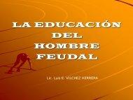 LA EDUCACION DEL HOMBRE FEUDAL.pdf - Intel Engage