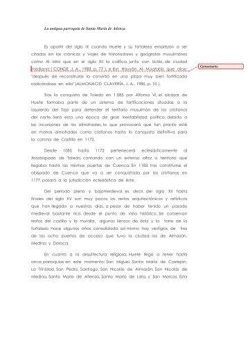 artículo de María José López Rubio - San Juan Evangelista
