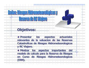 Riesgos Hidrometeorológicos y Reserva de RC Viajero - Asociación ...