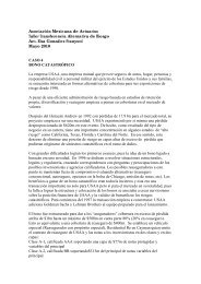 caso 4 bono catastrófico - Asociación Mexicana de Actuarios, AC