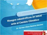 Riesgos catastróficos en salud ante el Cambio Climático