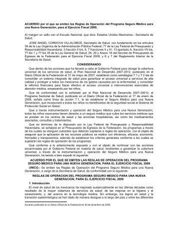 acuerdo - Cámara de Diputados