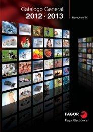 Catálogo Fagor Recepción TV 2012 - Fagor Electrónica
