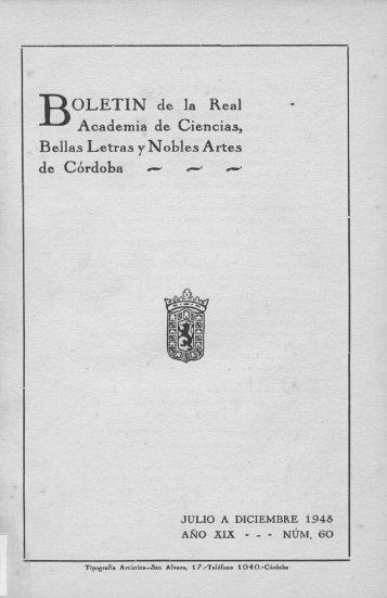 BOLETÍN de la Real Academia de Ciencias, Bellas Letras y Nobles ...