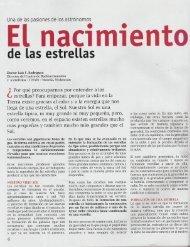 PDF - El nacimiento de las estrellas - RedCLARA