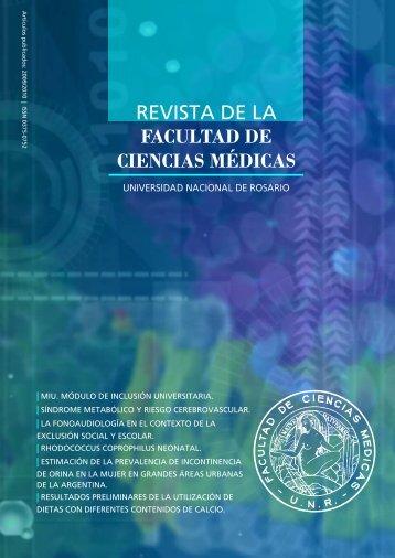 REVISTA DE LA FACULTAD DE CIENCIAS MÉDICAS - UNR