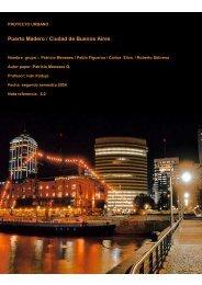 Puerto Madero / Proyecto Urbano - Plataforma Urbana