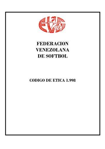 Código de Ética - Liga de Softball Valencia