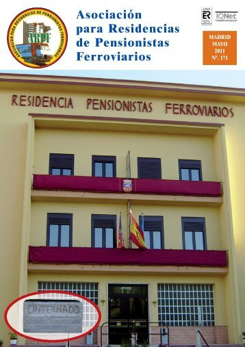 2011 - mayo - ARPF. Asociacion para Residencias de Pensionistas ...