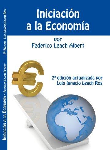 Haz clic aquí para el descargar el libro - Iniciación a la economia