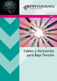 cables y accesorios para baja tensión - Prysmian