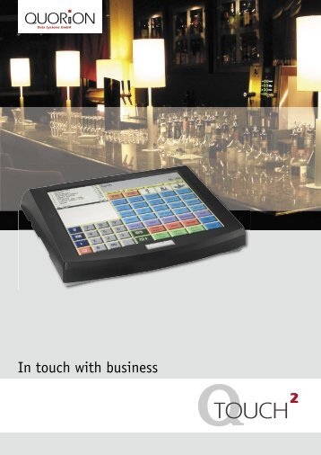 In touch with business - QUORiON