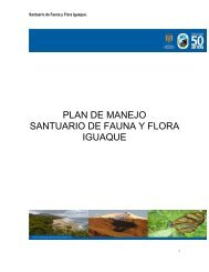 PLAN BASICO DE MANEJO SFF IGUAQUE - Parques Nacionales ...