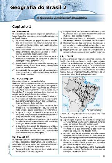 Geografia do Brasil 2 - Einsteen 10