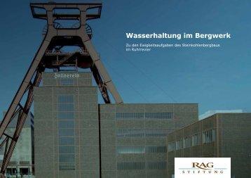 Wasserhaltung im Bergwerk - RAG-Stiftung