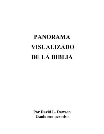 PANORAMA VISUALIZADO DE LA BIBLIA