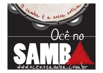 apresentacao_ocenosamba - Ocê no samba