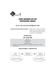 Livro Segundo do CTN • Disposições Gerais
