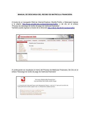 Consulta el procedimiento para descargar los recibos pago de ...