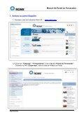 Manual do Portal do Fornecedor - Romi - Page 3