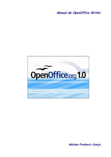 Manual de OpenOffice Writer