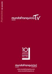 Dossier de Patrocinios TV. Conozca las diversas opciones