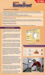 Monitor de cocina (Básico) Tipo de monitor: - Soft Restaurant