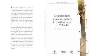 Desplazamiento y políticas públicas de restablecimiento en Colombia