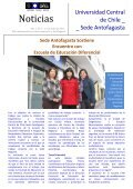 Noticias - Universidad Central de Chile - Page 3