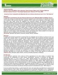 Artículo Científico Autores: Clara Inés Medina, Darío ... - Corpoica