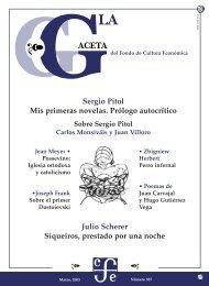 La Gaceta del FCE, marzo de 2003 - Fondo de Cultura Económica